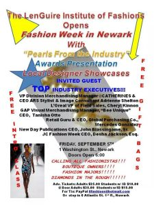 LIF Fashion Week Flier